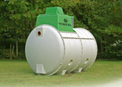 micro station d'épuration des eaux domestiques Tricel