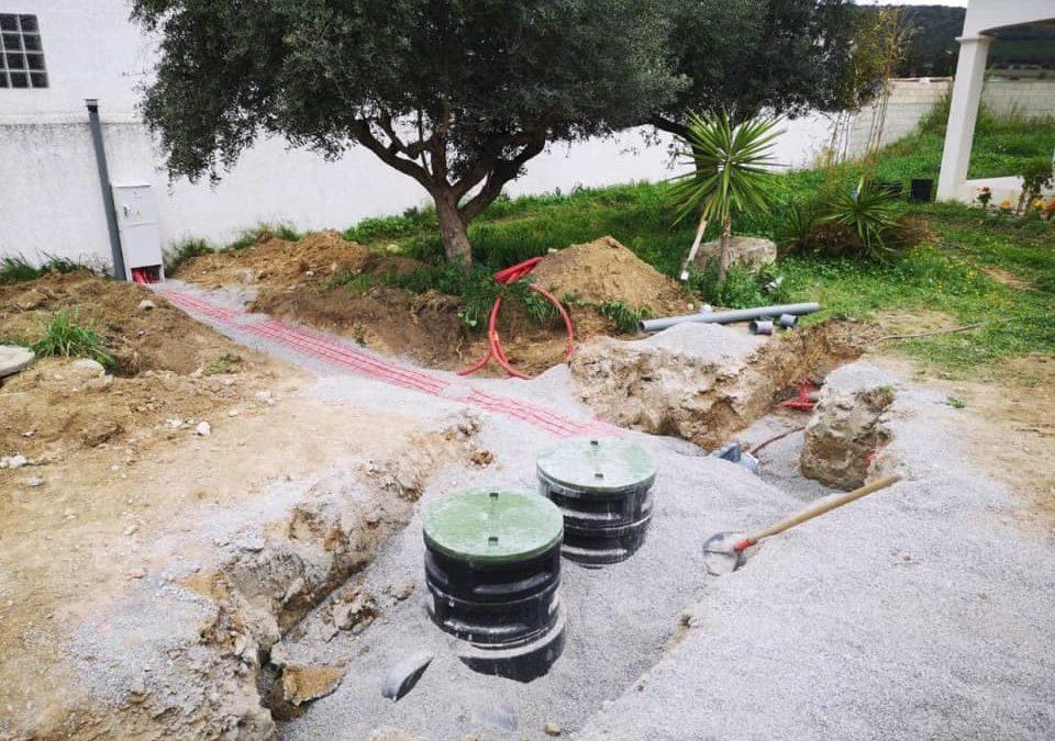 Installation de micro station d'épuration à Vic Gardiole – Hérault